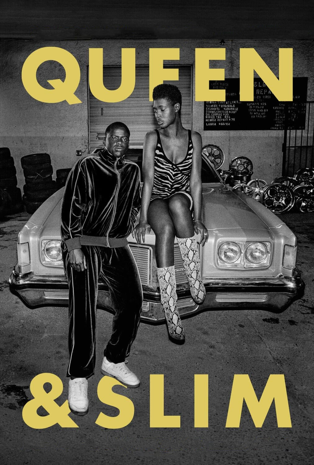 "Poster for the movie ""Queen & Slim"""