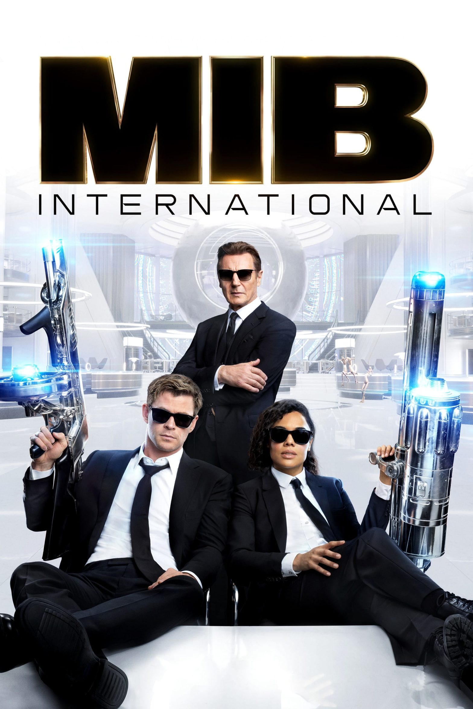 "Poster for the movie ""Men in Black: International"""