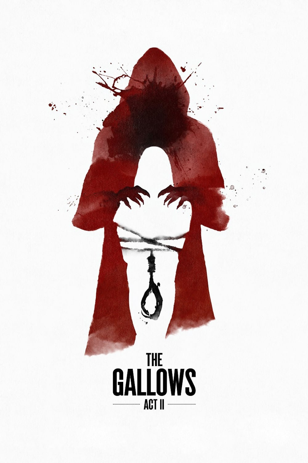 "Poster for the movie ""The Gallows Act II"""