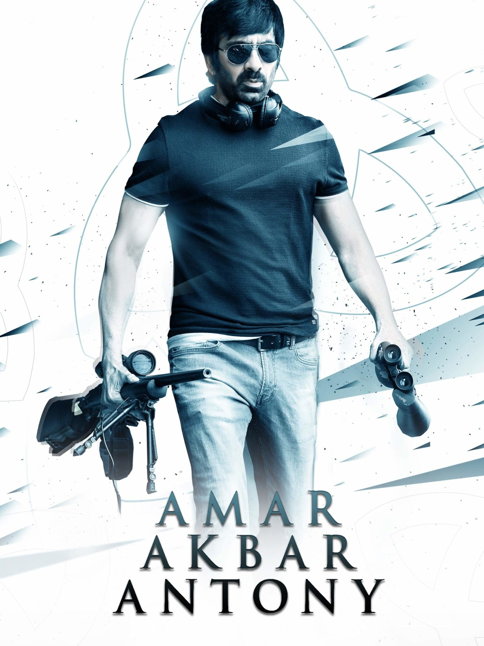 "Poster for the movie ""Amar Akbar Anthony"""