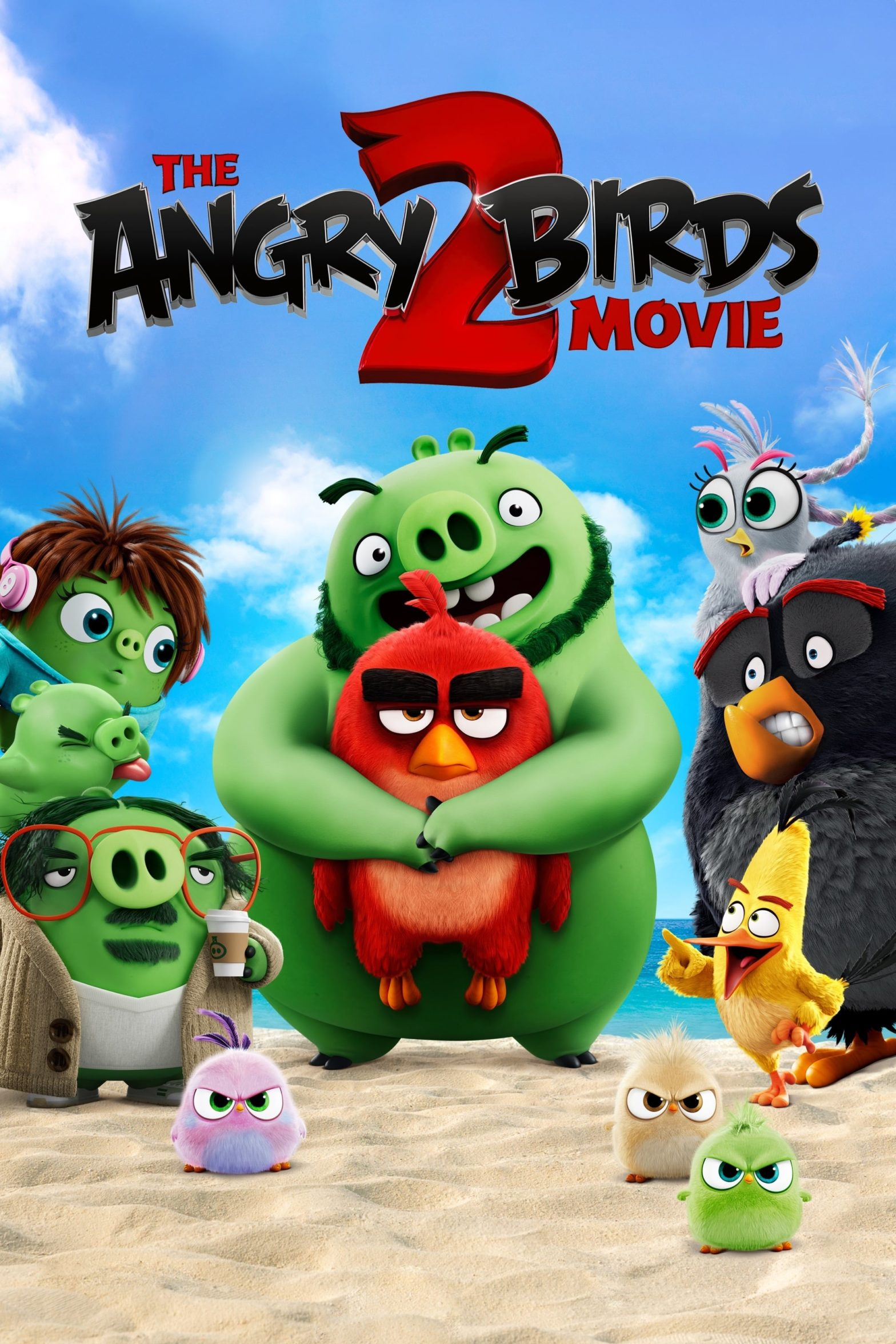 "Poster for the movie ""The Angry Birds Movie 2"""