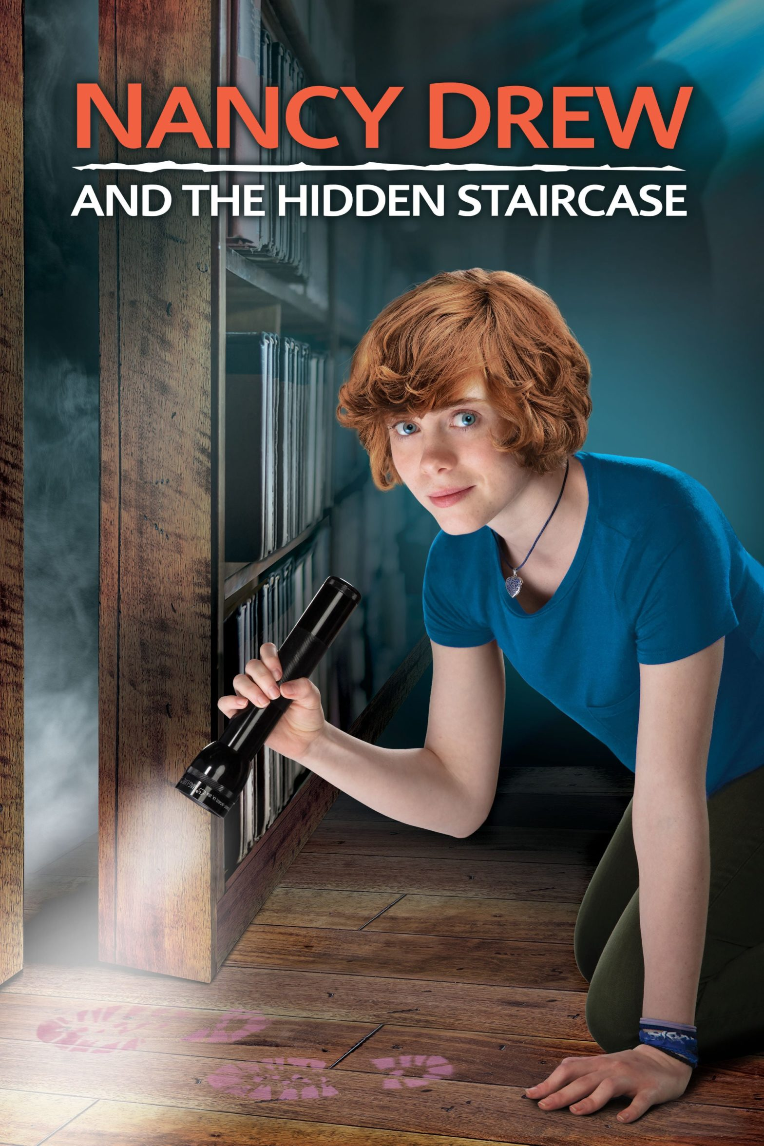 "Poster for the movie ""Nancy Drew and the Hidden Staircase"""