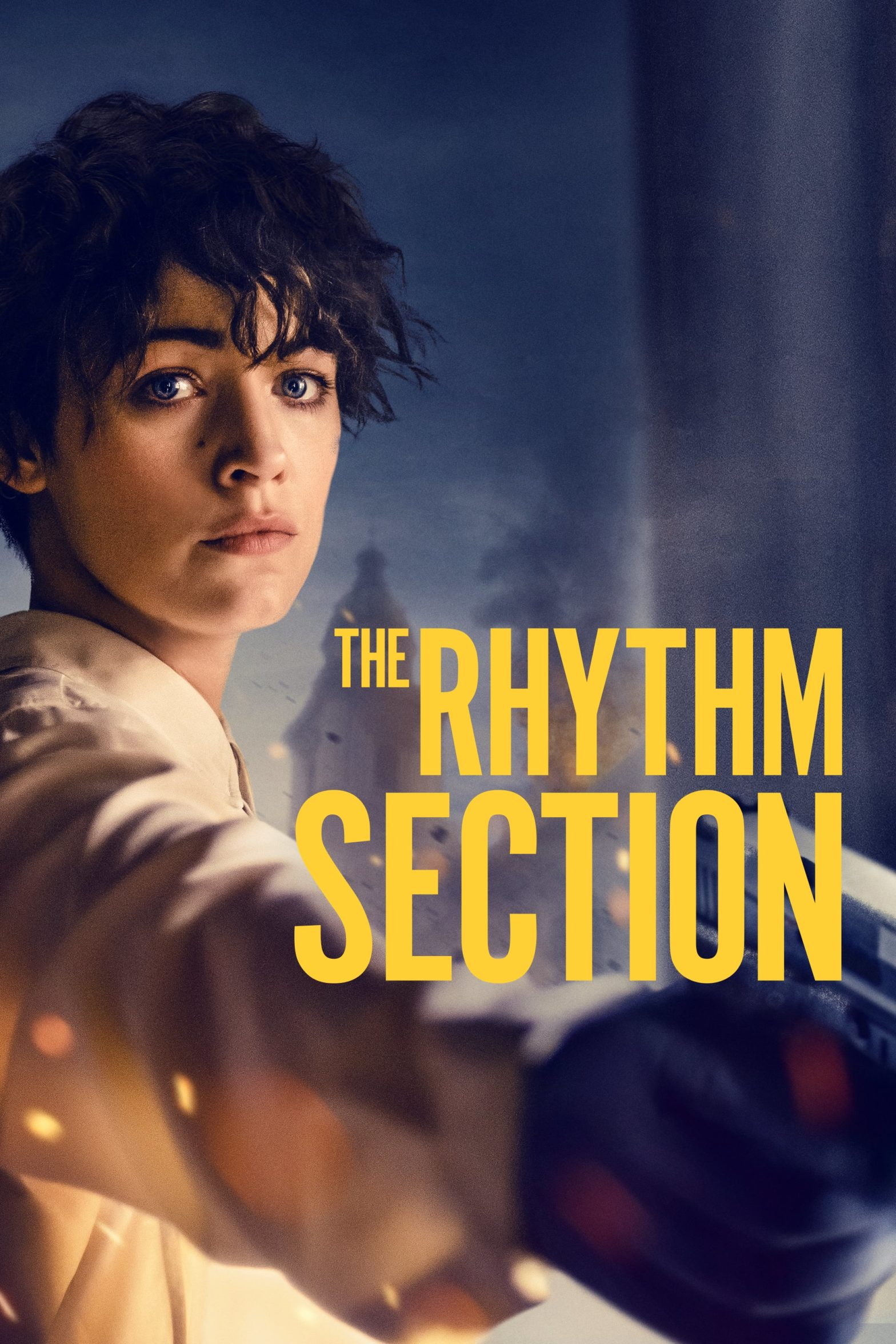 "Poster for the movie ""The Rhythm Section"""