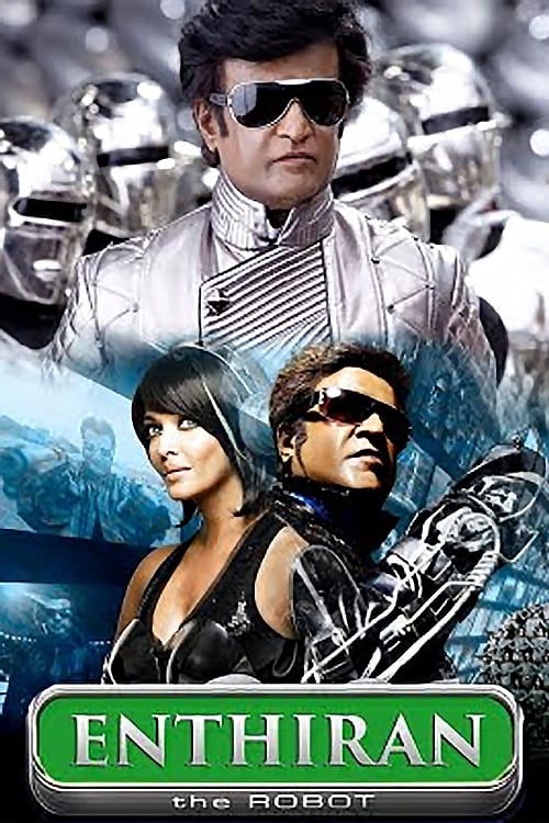 """Poster for the movie """"Enthiran"""""""