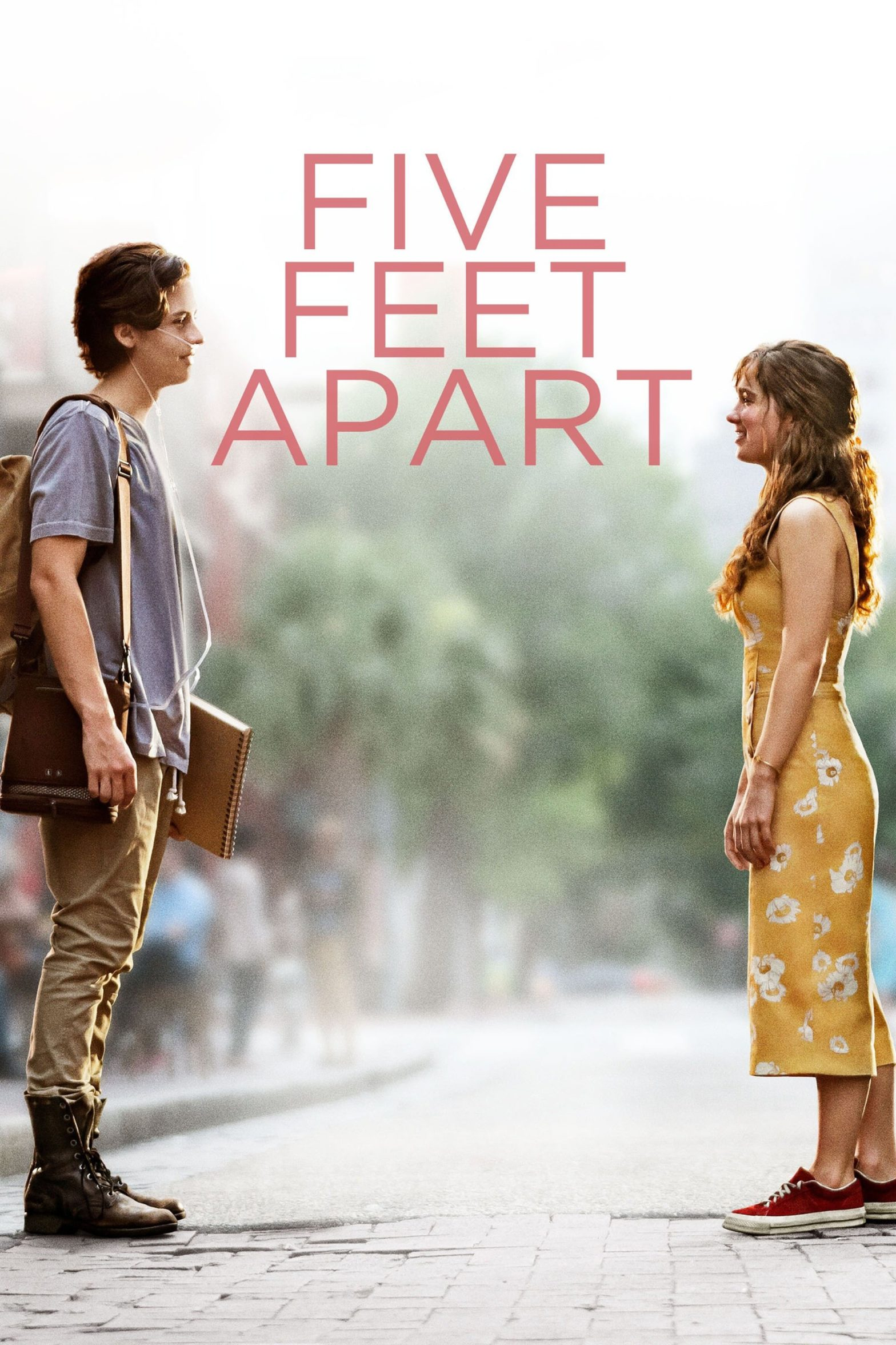 """Poster for the movie """"Five Feet Apart"""""""