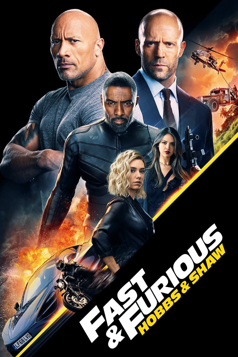 """Poster for the movie """"Fast & Furious Presents: Hobbs & Shaw"""""""