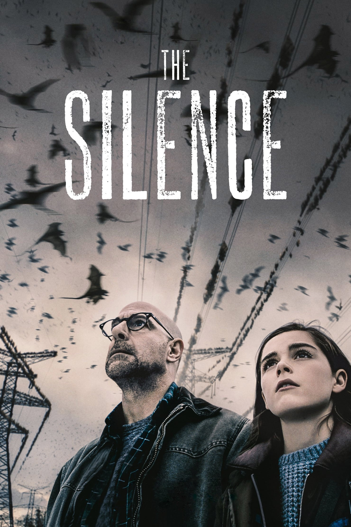 """Poster for the movie """"The Silence"""""""