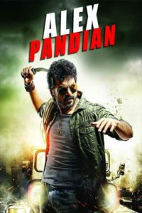 "Poster for the movie ""Alex Pandian"""