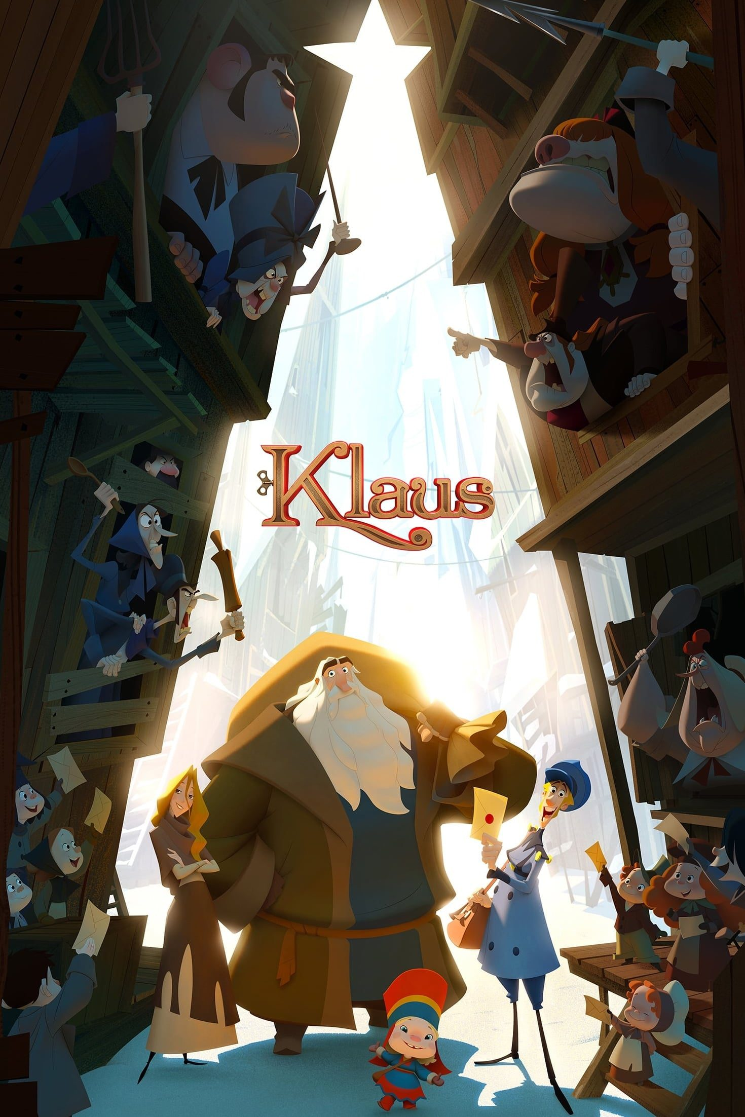 "Poster for the movie ""Klaus"""