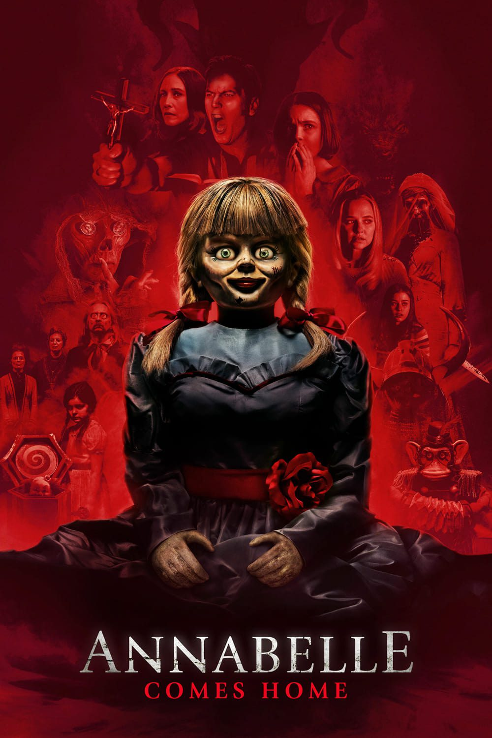"""Poster for the movie """"Annabelle Comes Home"""""""