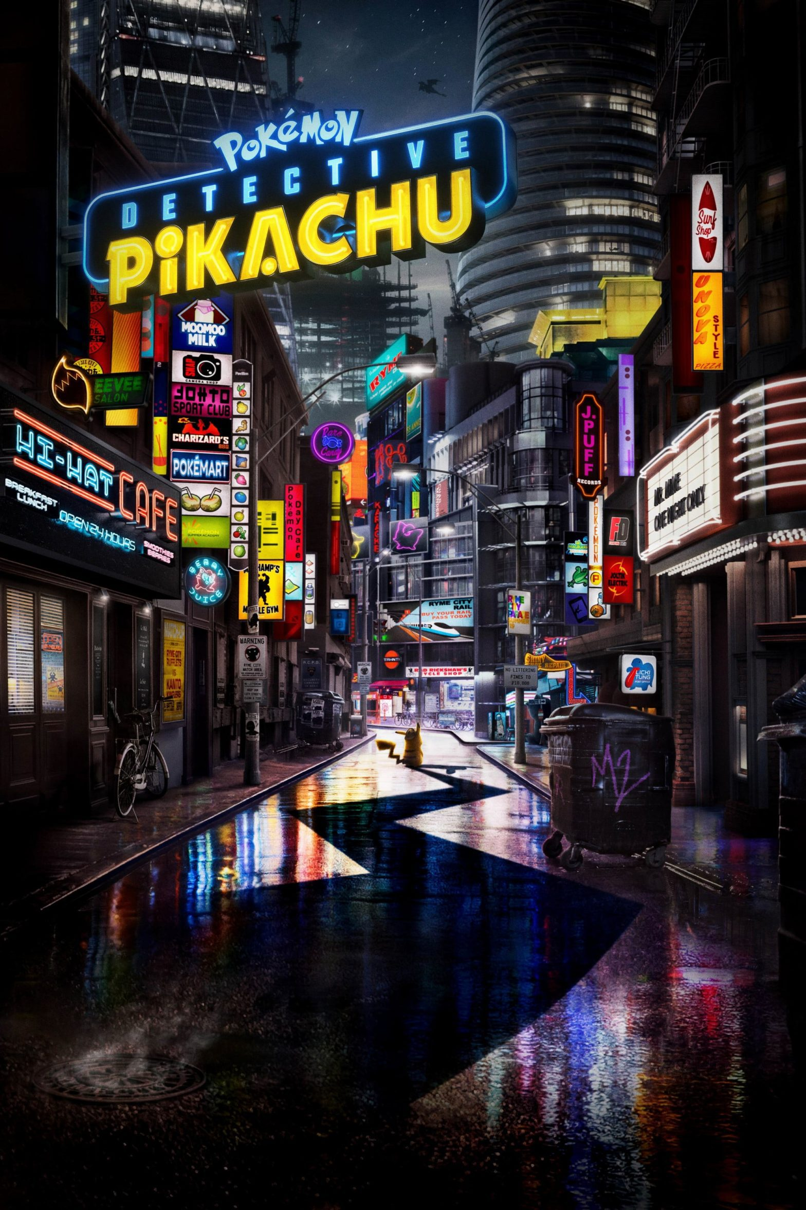 "Poster for the movie ""Pokémon Detective Pikachu"""