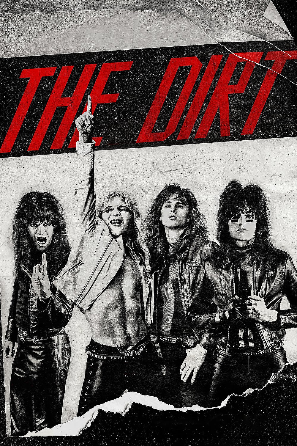 "Poster for the movie ""The Dirt"""