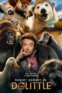 "Poster for the movie ""Dolittle"""