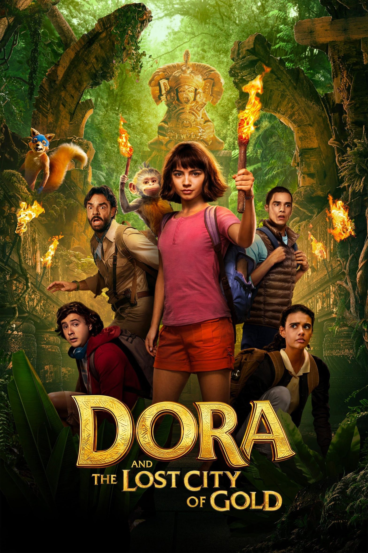 "Poster for the movie ""Dora and the Lost City of Gold"""