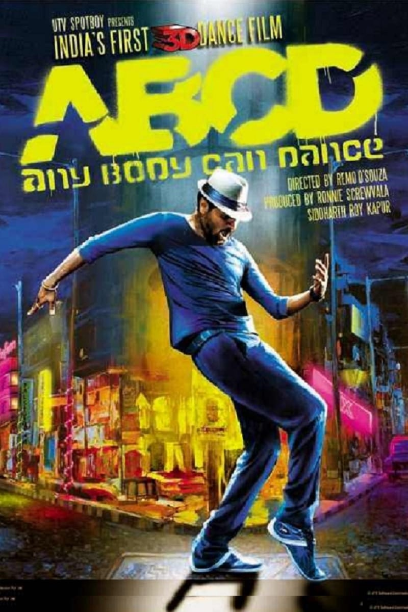 """Poster for the movie """"ABCD"""""""