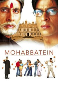"""Poster for the movie """"Mohabbatein"""""""