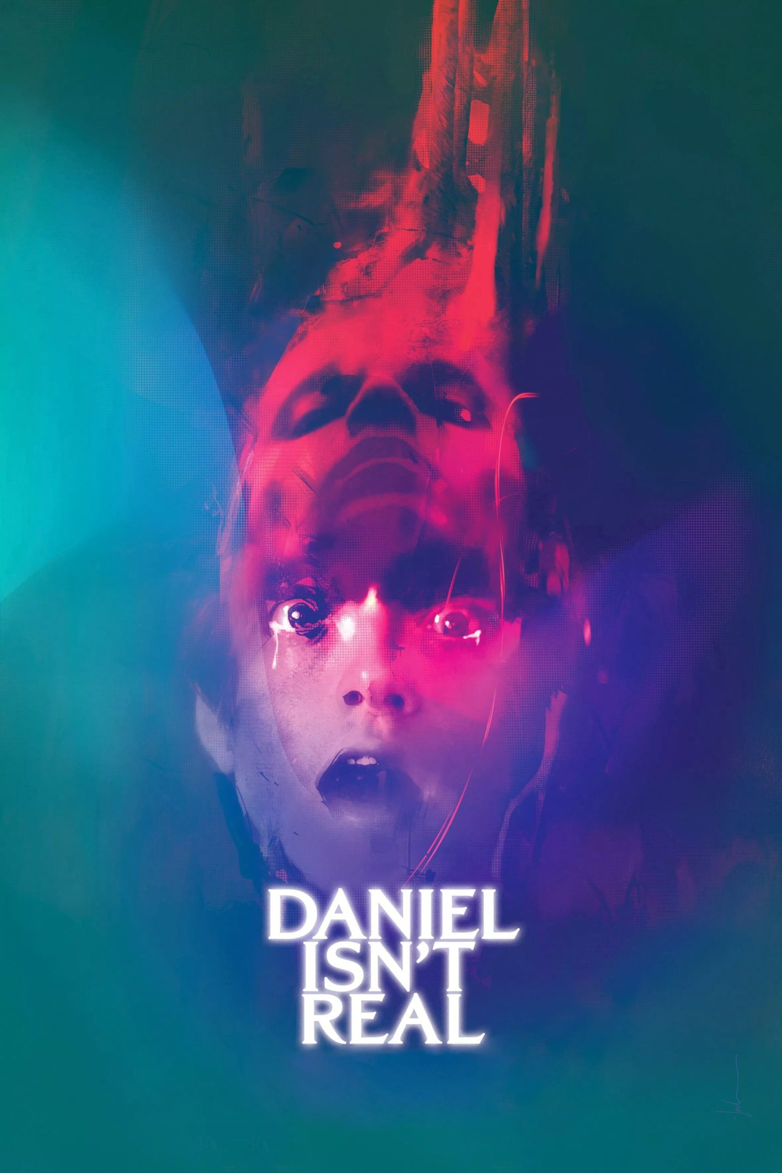 "Poster for the movie ""Daniel Isn't Real"""