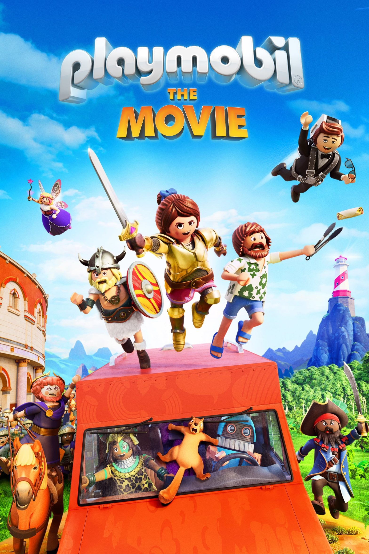 "Poster for the movie ""Playmobil: The Movie"""