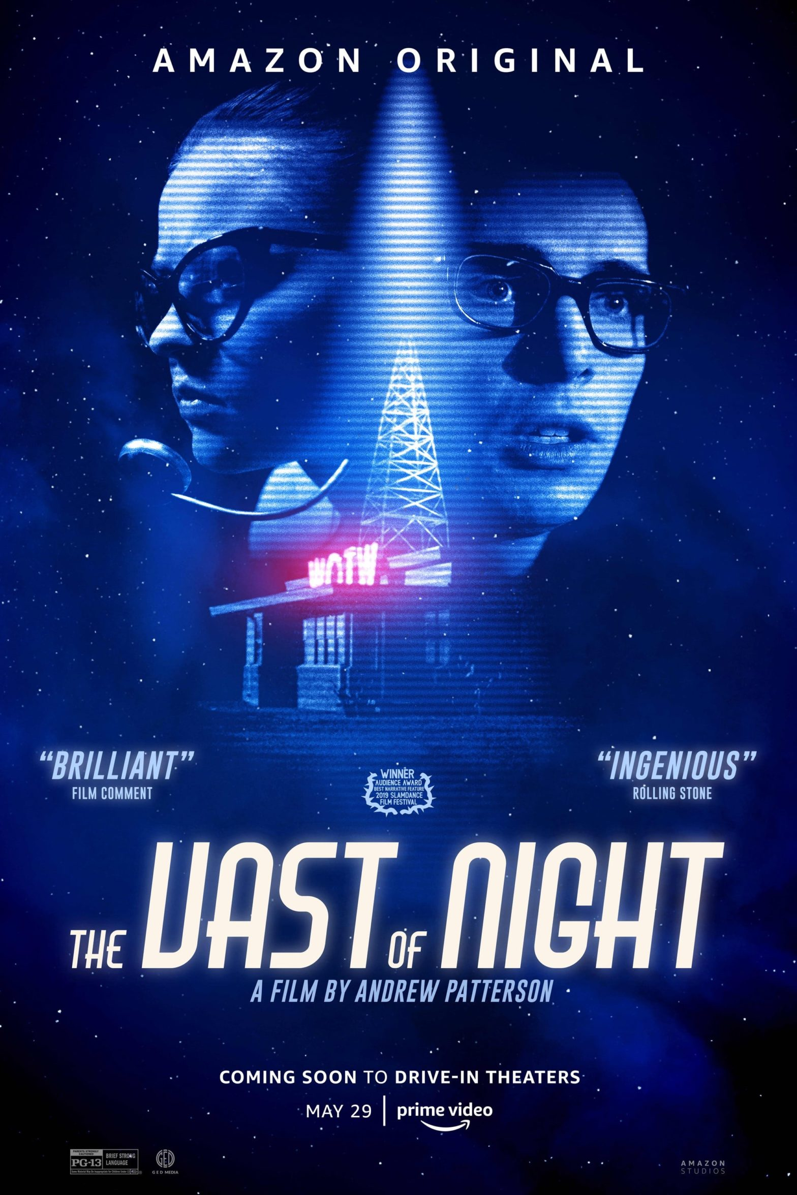 "Poster for the movie ""The Vast of Night"""