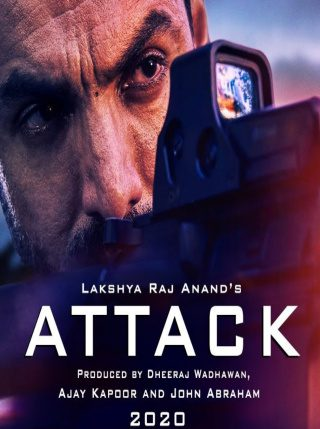 "Poster for the movie ""Attack"""