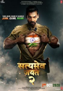 "Poster for the movie ""Satyameva Jayate 2"""