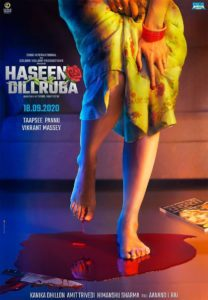 "Poster for the movie ""Haseen Dillruba"""